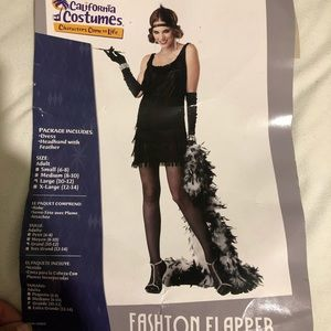 Halloween costume FLAPPER GIRL
